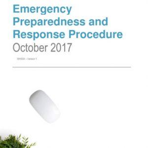 Emergency Preparedness and Response Procedure