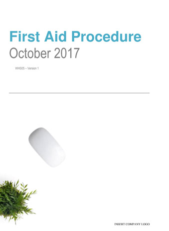 First Aid Procedure