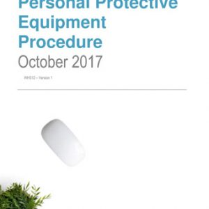 Personal Protective Equipment Procedure
