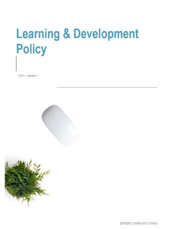 Learning and Development Policy