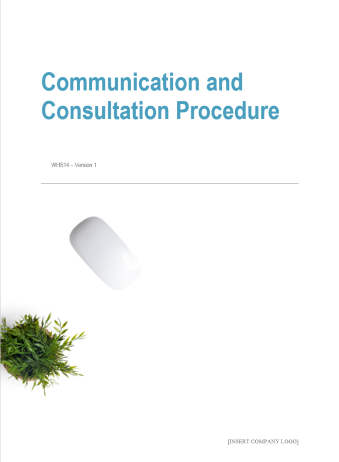 Communication and Consulation Procedure