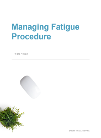 Managing Fatigue Procedure