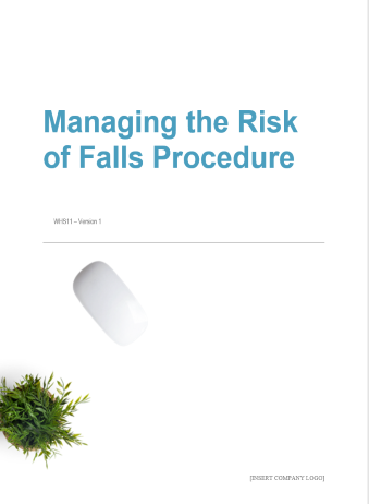 Managing the Risk of Falls Procedure