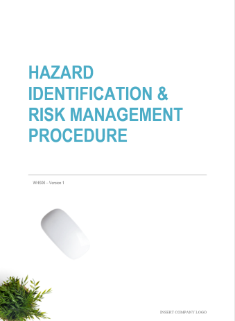Hazard Identification and Risk Management Procedure