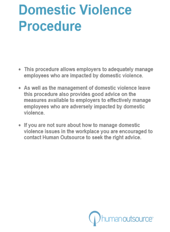 Domestic Violence Procedure
