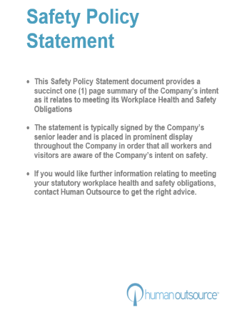 Safety Policy Statement