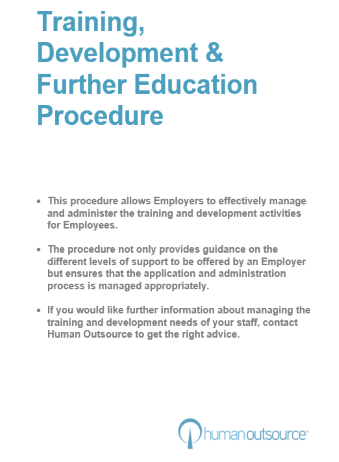 Training, Development and Further Education Procedure